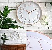 """12"""" Silent Modern Wall Clock $9.59 << $15.99 (~10/17)"""