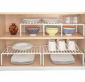 Cabinet Storage Extendable Shelf 2-Set $15.99 [$4 Off Coupon]