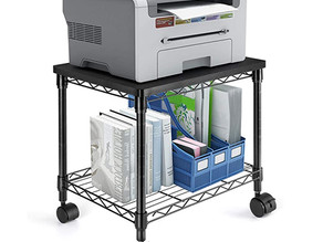 2 Tier Printer Cart for Storage $34.09 << $45.99
