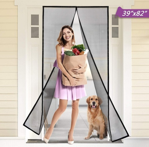 Cyttengo Magnetic Screen Door with Super Tight Self Closing Magnetic Seal and Durable Polyester Mesh | Kongdeals은 핫딜, hot deals, 할인쿠폰,아마존 할인코드, 아마존 쿠폰 코드, Amazon, coupons, promo codes, coupon codes, freesbees, sale, clearance 등 미국 쇼핑 채널 세일 및 브랜드 정보를 매일 공유