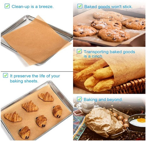 Parchment Paper Baking Sheets, Unbleached and Precut Non-Stick, Non-toxic and Come in Zip Lock Bag, Not Burn or Curl, Parchment | Kongdeals은 핫딜, hot deals, 할인쿠폰,아마존 할인코드, 아마존 쿠폰 코드, Amazon, coupons, promo codes, coupon codes, freesbees, sale, clearance 등 미국 쇼핑 채널 세일 및 브랜드 정보를 매일 공유