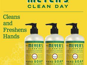Mrs.Meyers  Clean Day Hand Soap, Honeysuckle 3-Pk $9.83