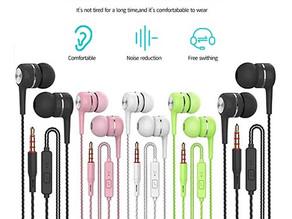 Earbuds Headphones w/Microphone 5 Pack $8.04 << $11.49