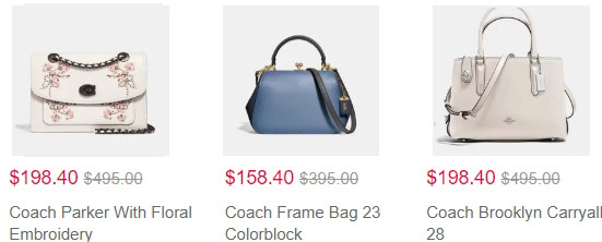 Coach handbags & wallets Sale   Kongdeals은 핫딜, hot deals, 할인쿠폰,아마존 할인코드, 아마존 쿠폰 코드, Amazon, coupons, promo codes, coupon codes, freesbees, sale, clearance 등 미국 쇼핑 채널 세일 및 브랜드 정보를 매일 공유