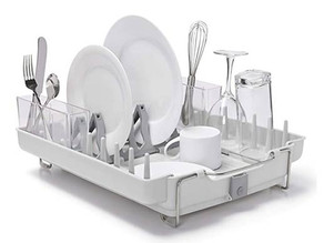 OXO Good Grips Foldaway Dish Rack $28.03 << $39.99