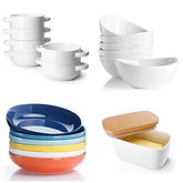 Sweese Porcelain Dishes and Cups up to 39% Off