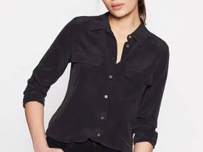 Equipment Slim Signature Silk Shirt $99 << $230