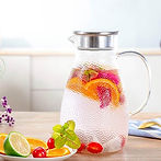 1.8 Liters Glass Water Pitcher $14.99 (50% Off)