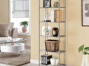 Metal Adjustable 6-Shelf Storage $27.49 << $58.99