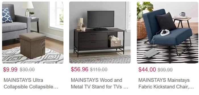 Walmart Furniture Summer Sale   Kongdeals은 핫딜, hot deals, 할인쿠폰,아마존 할인코드, 아마존 쿠폰 코드, Amazon, coupons, promo codes, coupon codes, freesbees, sale, clearance 등 미국 쇼핑 채널 세일 및 브랜드 정보를 매일 공유