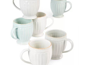 Lenox French Perle Groove Mug (3 Colors) $8.49 << $19