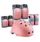 PHZ Kids Youth Bike Helmet, 2*Knee Pads, 2*Elbow Pads $18.69 << $33.99