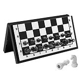Magnetic Travel Folding Chess Set $11.77 << $20