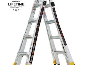 18ft Gorilla Multi-Position Ladders $99 << $179 (45% Off)