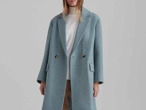 Club Monaco Relaxed Double-Breasted Coat $114.50 << $379