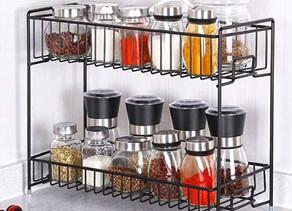 2-Tier Spice Storage Racks $9.99 << $19.99