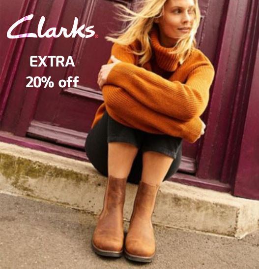 Clarks - extra 20% off Sale | Kongdeals은 핫딜, hot deals, 할인쿠폰,아마존 할인코드, 아마존 쿠폰 코드, Amazon, coupons, promo codes, coupon codes, freesbees, sale, clearance 등 미국 쇼핑 채널 세일 및 브랜드 정보 공유