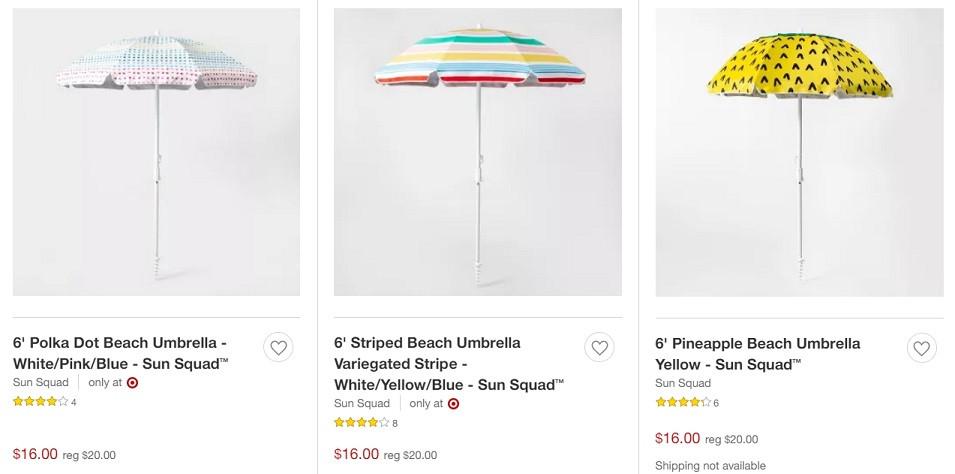 Beach Sun Squad Umbrella | Kongdeals은 핫딜, hot deals, 할인쿠폰,아마존 할인코드, 아마존 쿠폰 코드, Amazon, coupons, promo codes, coupon codes, freesbees, sale, clearance 등 미국 쇼핑 채널 세일 및 브랜드 정보를 매일 공유
