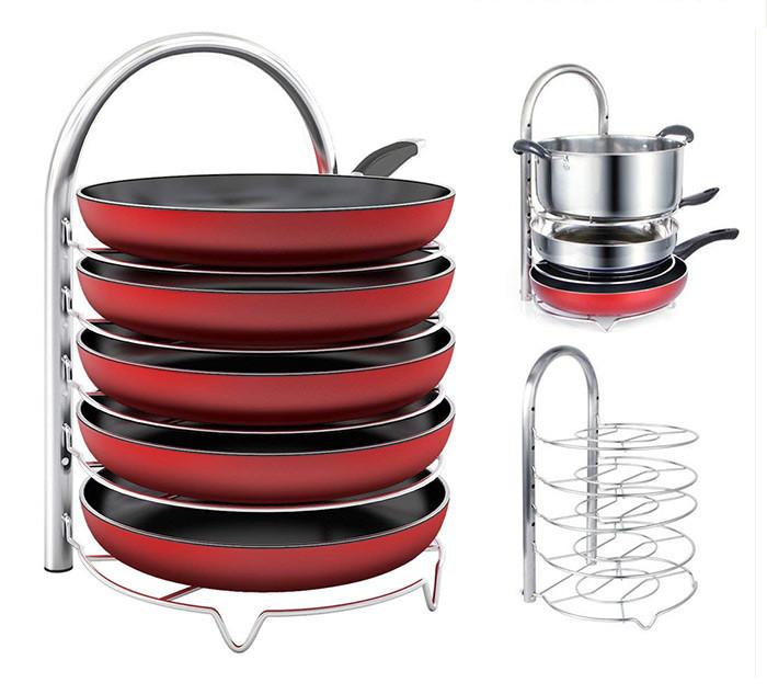 Adjustable Pan&Pot Organizer Rack