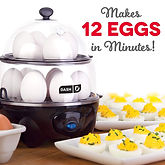 DASH Electric Egg Cooker for 12 Eggs $19.99 ($20 Off)