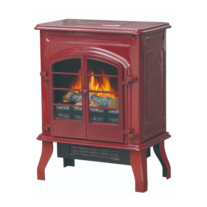 Bold Flame Electric Space Heater, Glossy Red | Kongdeals은 핫딜, hot deals, 할인쿠폰,아마존 할인코드, 아마존 쿠폰 코드, Amazon, coupons, promo codes, coupon codes, freesbees, sale, clearance 등 미국 쇼핑 채널 세일 및 브랜드 정보를 매일 공유