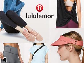 엣지있는 운동복~ lululemon  최고 50%Off 세일 / 런 바이저 $19불(<<$28) / 프리쉽&리턴가능