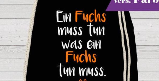 Rucksack, Turnbeutel - Fuchs