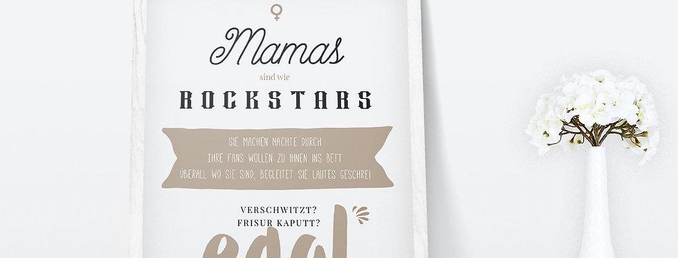 Kunstdruck, Print - Mama
