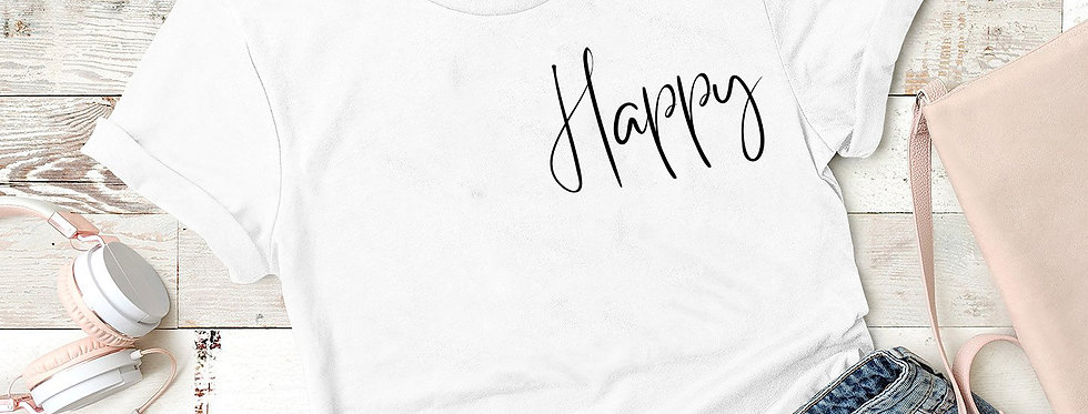 T-Shirt - Happy