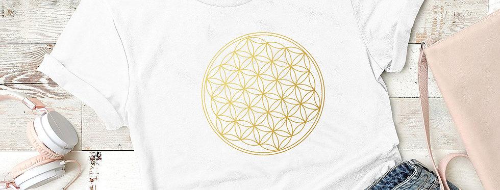 T-Shirt -Blume des Lebens