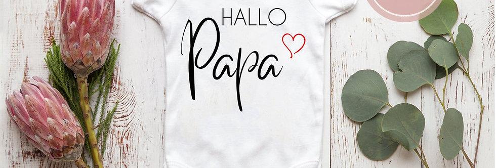 Body, Strampler - Hallo Papa