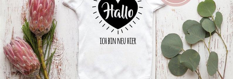 Body, Strampler -Hallo
