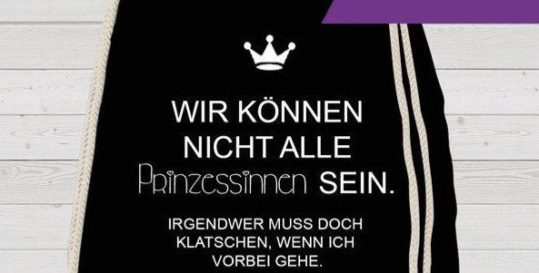 Rucksack, Turnbeutel - Prinzessinnen