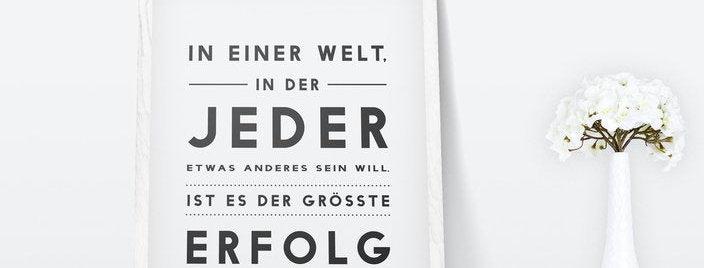 Kunstdruck, Print - Erfolg