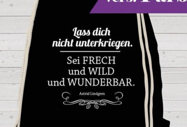 Rucksack, Turnbeutel - Frech