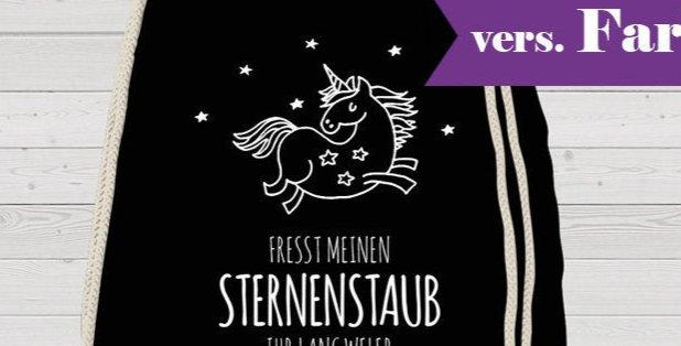 Rucksack, Turnbeutel - Sternenstaub