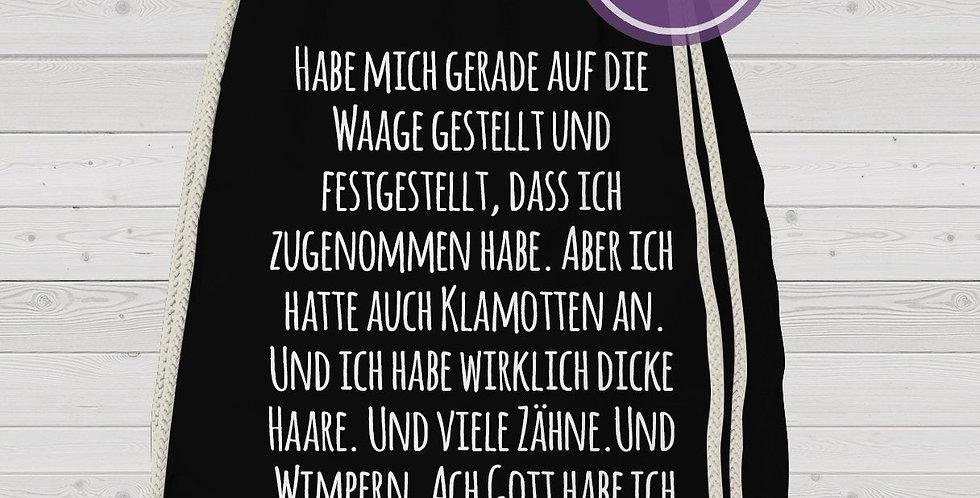 Rucksack, Turnbeutel - Wimpern