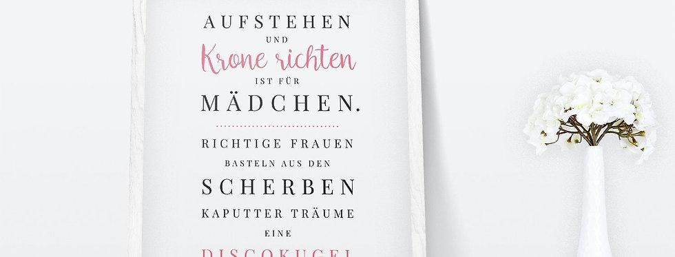 Kunstdruck, Print - Krone
