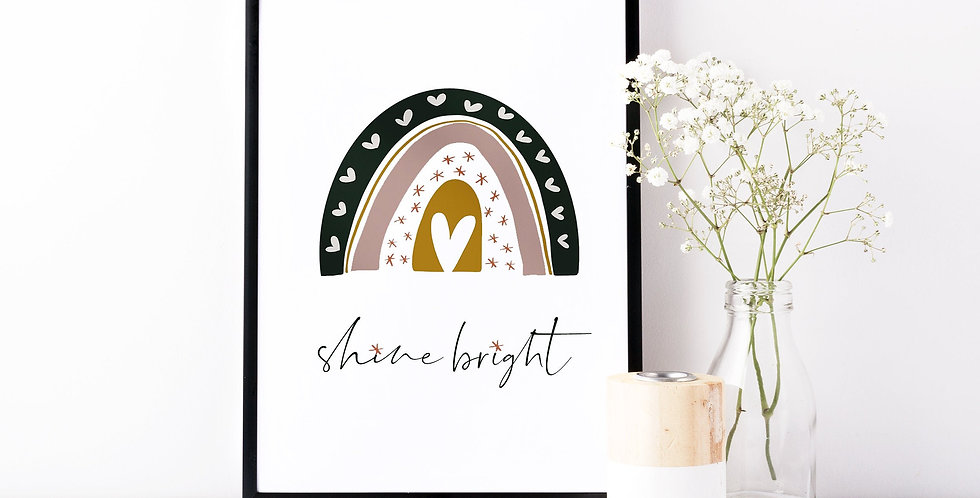 Kunstdruck, Print - shine bright