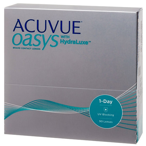 1-DAY ACUVUE OASYS with HydraLuxe (90 линз) 4600 руб.