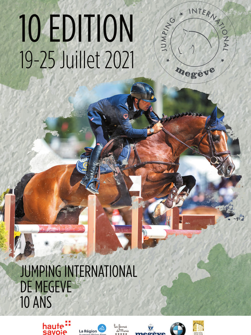 Lea chatelier concours affiche Jumping A