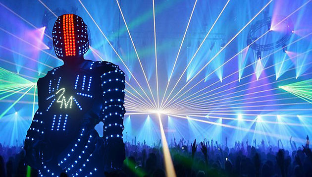 Led robot for hire for kids parties, Weedings, nightclubs, etc