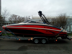 Boatwrapping Rinker Captiva