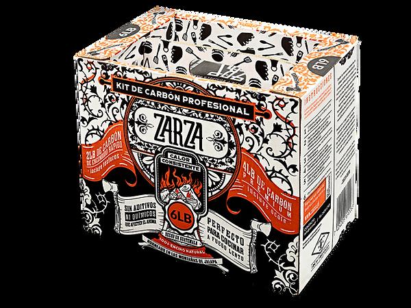 Kit de Carbón Profesinal Zarza