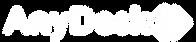 AnyDesk White Logo