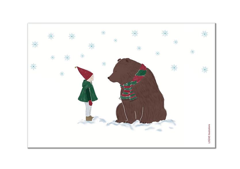 L'ours et l'enfant
