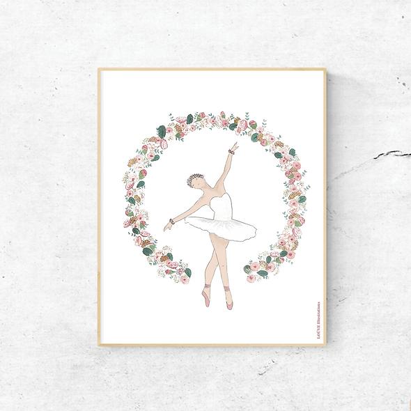 Affiche petite danseuse