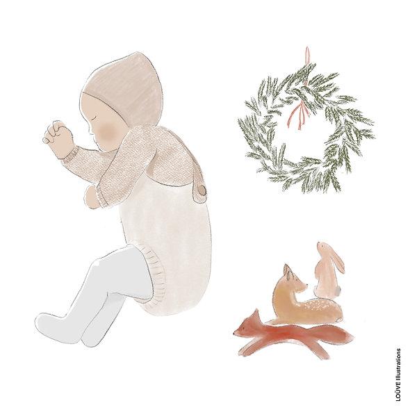 Bébés au fil des saisons