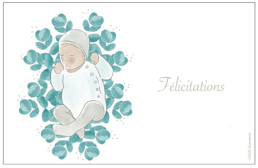 Félicitations bébé