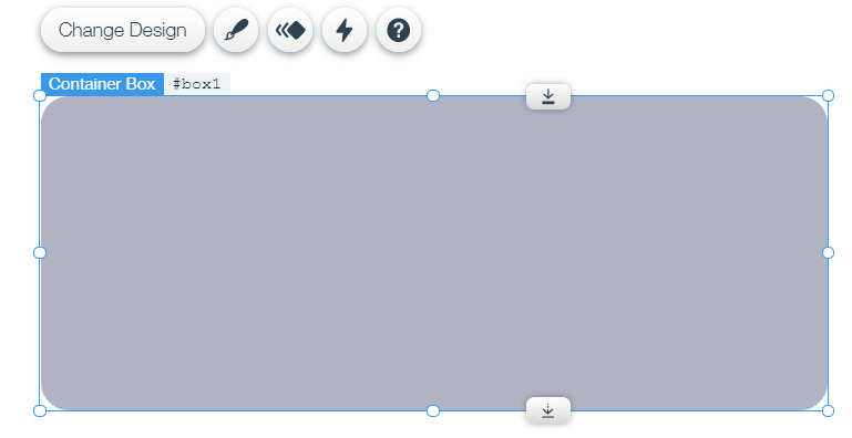 Box Element to hold Date Picker and Text Element
